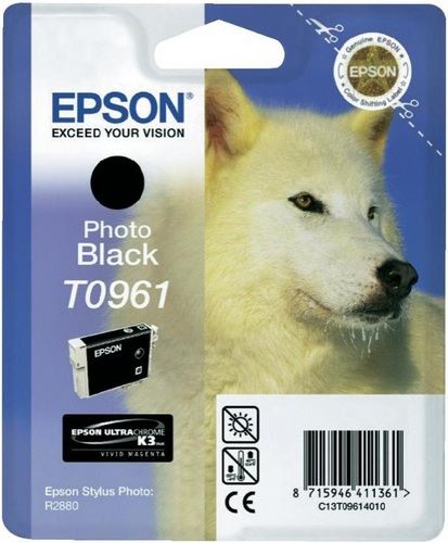 Epson T0961, Cartuccia d'inchiostro nero, 11.4ml