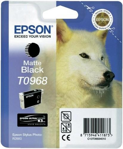 Epson T0968, Cartuccia d'inchiostro nero mat, 11.4ml