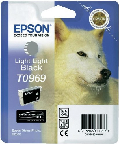Epson T0969, TPA light light schwarz, 11.4ml