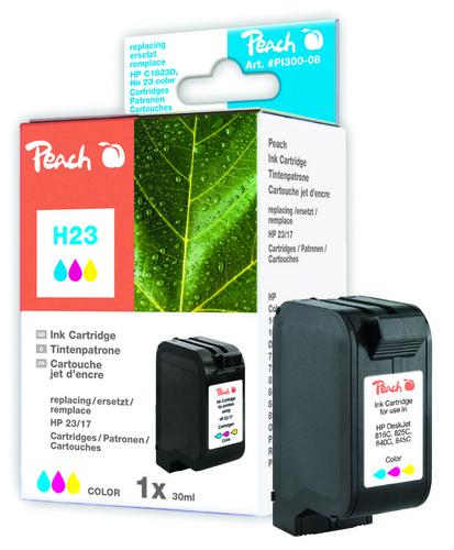 Peach Tintenpatrone color kompatibel zu Kodak, HP No. 23, C1823D