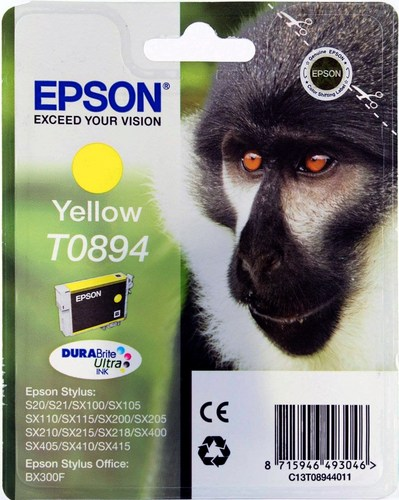 Epson T0894, TPA yellow, 3.5ml