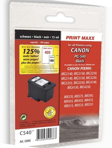 C540 per Canon PG-540 nero Cartuccia d'inchiostro compatibile