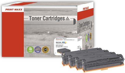 H304 HP 304A (Bk/C/M/Y) kompatibles Multipack