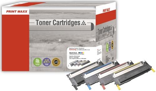 S4092 pour Samsung CLT-4092 (Bk/C/M/Y) Multipack Toner compatible
