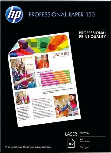 150 A4 Professional Laser Paper 150g/m2, glossy, beidseitig bedruckbar