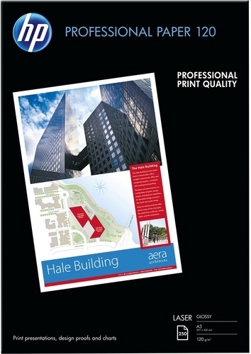 250 A3 Professional Laser Paper 120g/m2, glossy