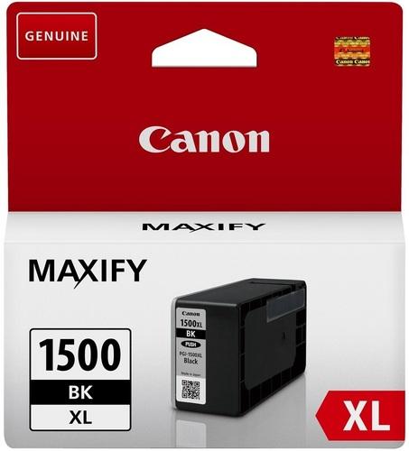 Canon PGI-1500XLBK, Cartouche d'encre noir, 34.7ml, 1'200 pages