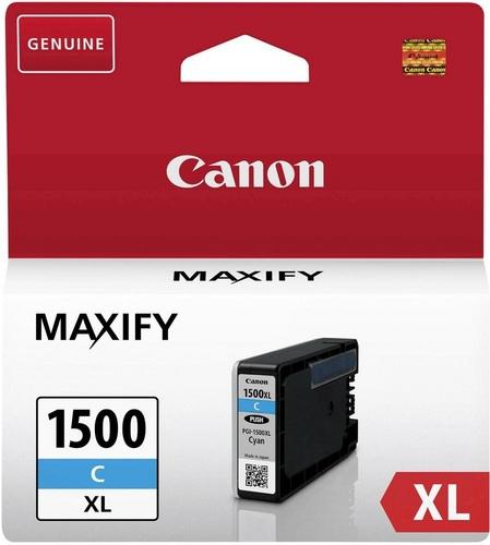 Canon PGI-1500XLC, Cartouche d'encre cyan, 12ml, 1'020 pages