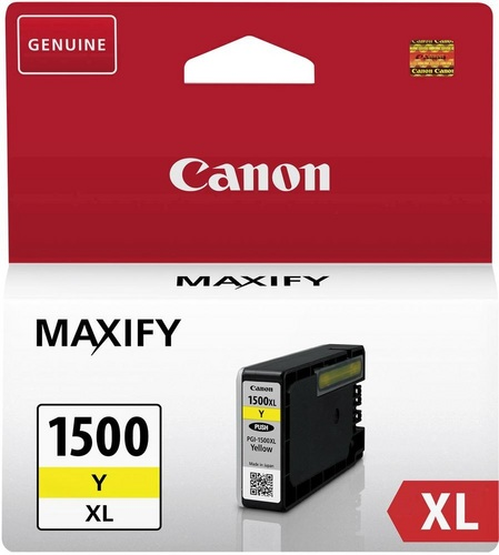 Canon PGI-1500XLY, TPA yellow, 12ml, 935s