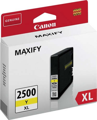 Canon PGI-2500XLY, TPA yellow, 19.3ml, 1'520s