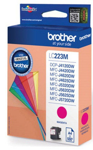 Brother LC223M, TPA magenta, 550s