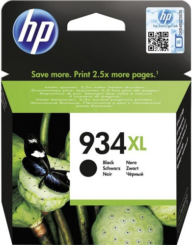 HP Nr. 934XL, noir, 1'000 pages