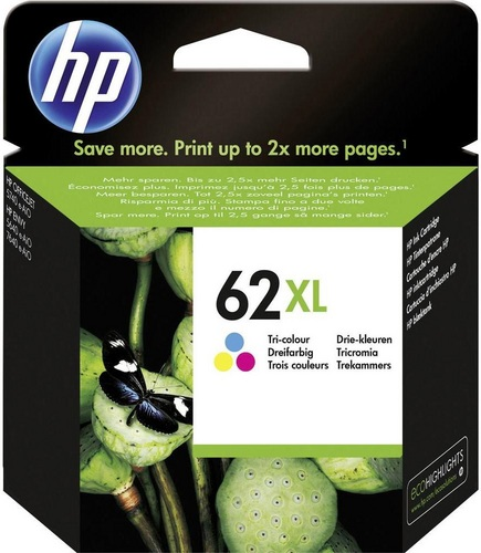 HP Nr. 62XL, coloré, 415 pages