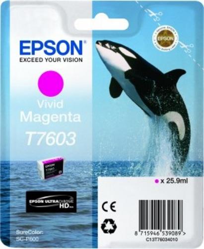 Epson T7603, TPA magenta, 25.9ml