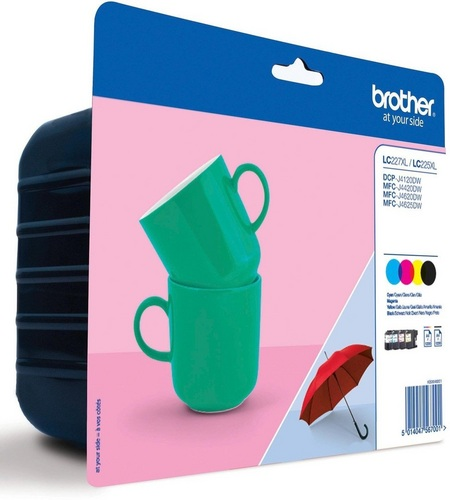 Brother LC227XLVALBP, TPA schwarz, cyan, magenta, yellow, Value Pack