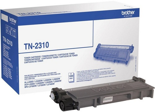 Brother TN-2310, Toner nero, 1'200 pagine