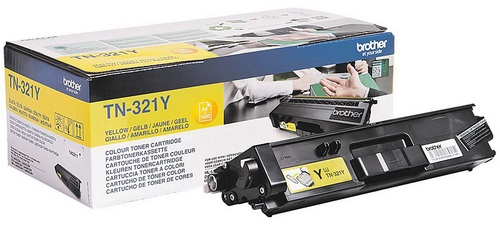 Brother TN-321Y, Toner yellow, 1'500s