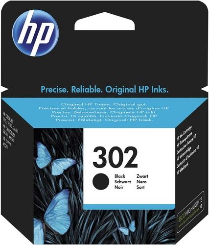 HP Nr. 302, Cartuccia d'inchiostro nero, 190 pagine