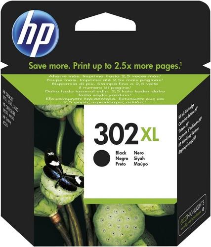HP Nr. 302XL, TPA schwarz, 480s