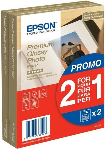 2x40 10x15 Premium Photo 255g/m2, glossy