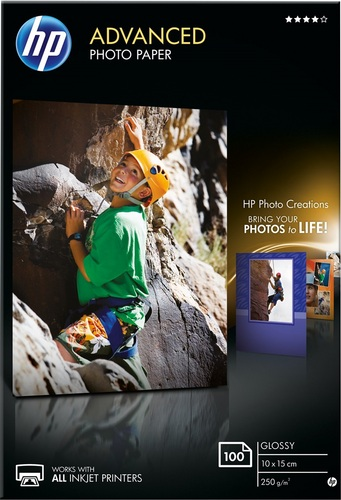 100 10x15 Advanced Photo Paper 250g/m2, glossy