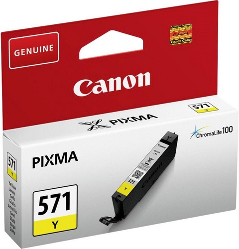 Canon CLI-571Y, TPA yellow