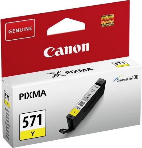 Canon CLI-571Y, Cartouche d'encre jaune