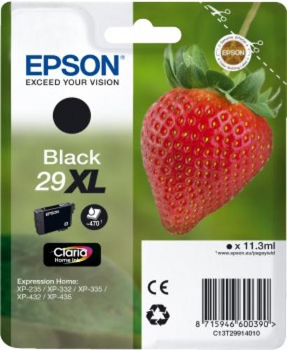 Epson 29XL, TPA schwarz, 470s, 11.3ml