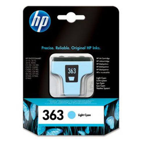 HP Nr. 363, TPA light cyan, C8774EE