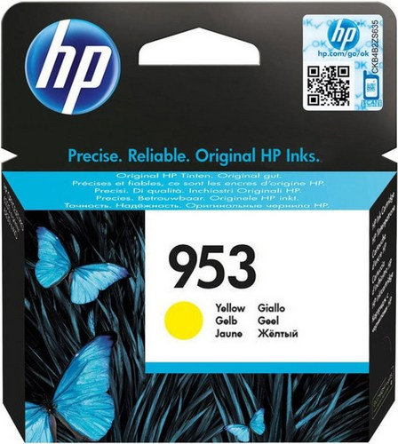 HP 953, Cartouche d'encre jaune, F6U14AE, 700 pages