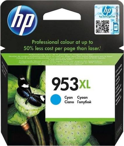 HP 953XL, TPA cyan, F6U16AE, 1'600 Seiten