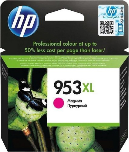 HP 953XL, TPA magenta, F6U17AE, 1'600 Seiten