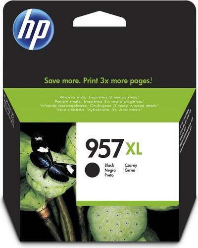 HP 957XL, TPA schwarz, L0R40AE, 3'000 Seiten