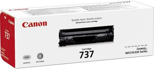 Canon 737, Toner nero, 2'400 pagine