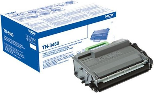Brother TN-3480, Toner nero, 8'000 pagine