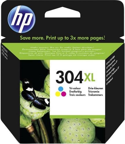 HP Nr. 304XL, Cartouche d'encre coloré, 300 pages