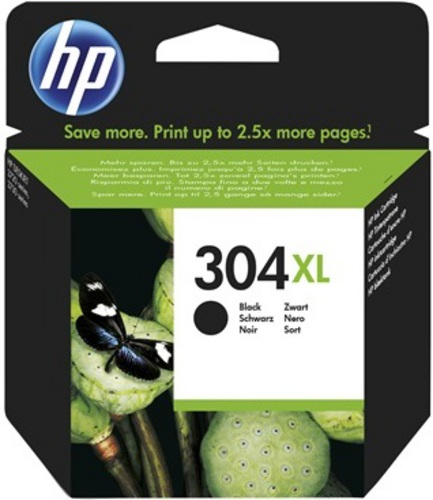 HP Nr. 304XL, TPA schwarz, 300s