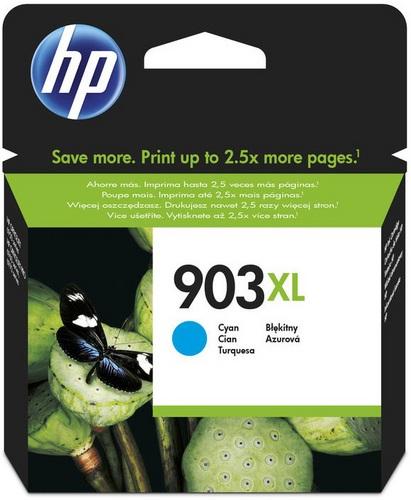 HP Nr. 903XL, TPA cyan, 825s