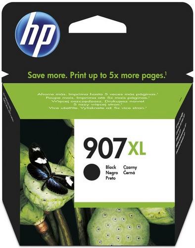 HP Nr. 907XL, Cartouche d'encre noir, 1'500 pages