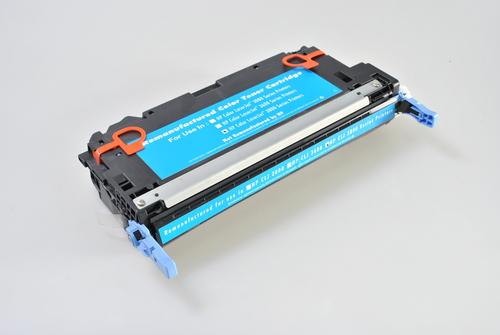 Peach Toner Module cyan, compatible avec HP Q7581A