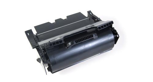 Peach Toner Module noire, compatible avec Lexmark 64016HE