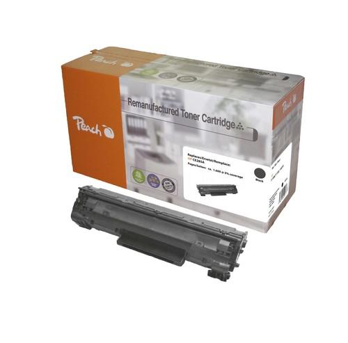 Peach Tonermodul schwarz kompatibel zu HP CE285A