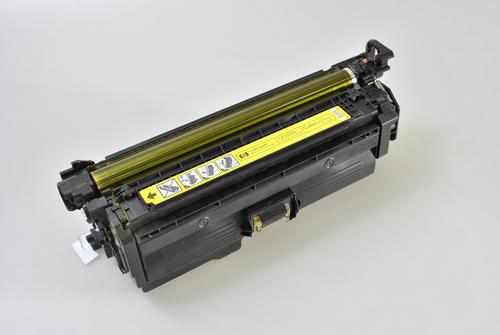 Peach Toner Module jaune, compatible avec HP No. 648, CE262A