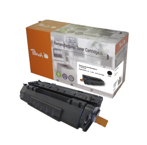 Peach Tonermodul schwarz kompatibel zu HP Q7553A