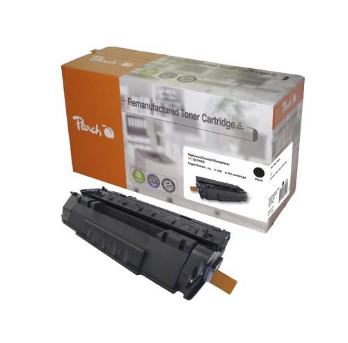 Peach Toner Module noire, compatible avec Canon, HP CRG-708, Q5949A