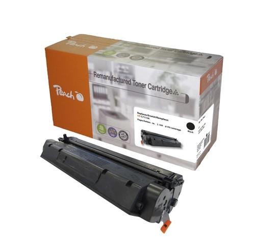 Peach Tonermodul schwarz kompatibel zu Canon, HP C7115A