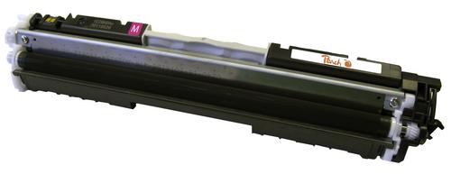 Peach Tonermodul magenta, kompatibel zu HP No. 126A, CE313A