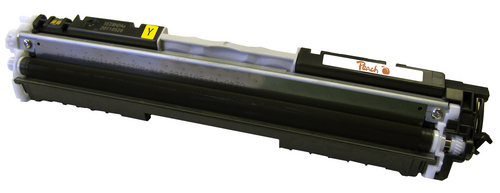 Peach Toner Module jaune, compatible avec HP No. 126A, CE312A