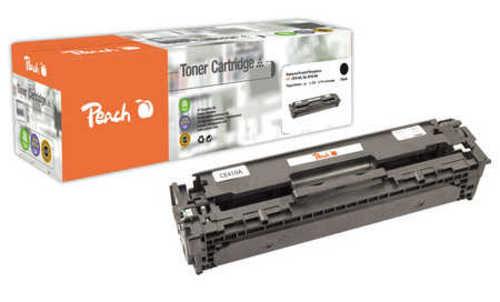 Peach Tonermodul schwarz kompatibel zu HP No. 305A, CE410A bk