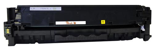 Peach Tonermodul gelb, kompatibel zu HP No. 305A, CE412A y